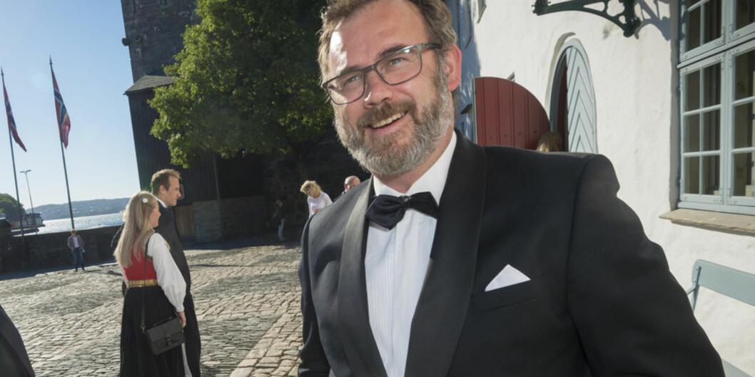 Kommunikasjonsdirektør Ingar Myking ved Universitetet i Bergen blir direktør ved universitetsdirektørenskontor. Foto: Tor Farstad
