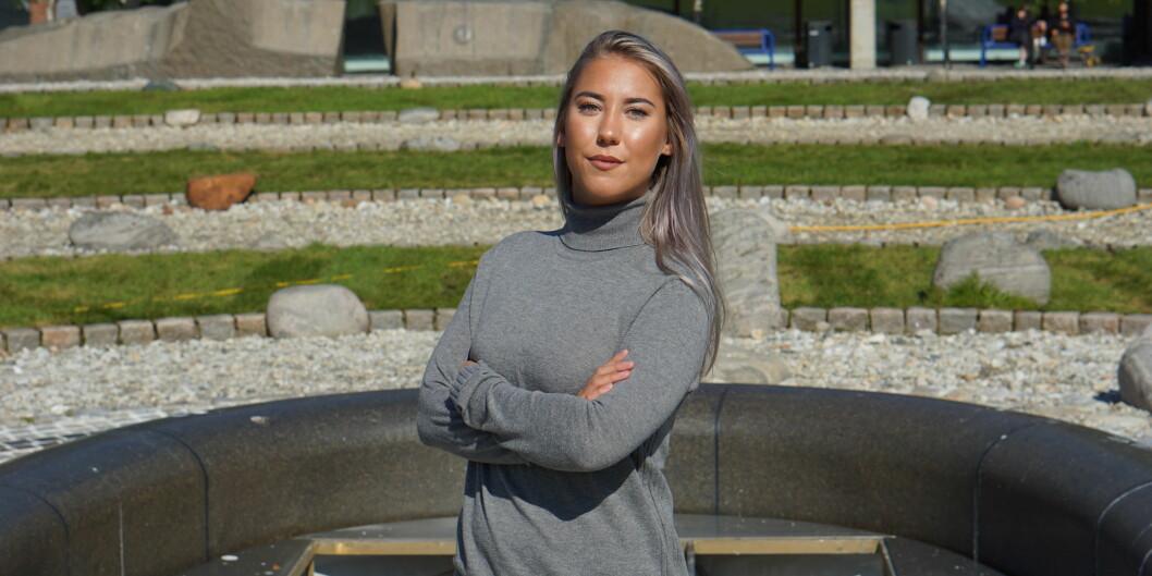 Leder av Studentparlamentet ved UiT Norges arktiske universitet, Ida-Elise Asplund, mener Arbeiderpartiet fortjener ros for å stå pågratisprinsippet.