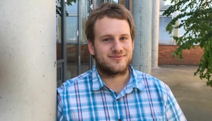 Organisatorisk nestleder, Simen Oftedahl, håper å få tilbake administrative ressurser i neste samarbeidsavtale. Foto: SDSN