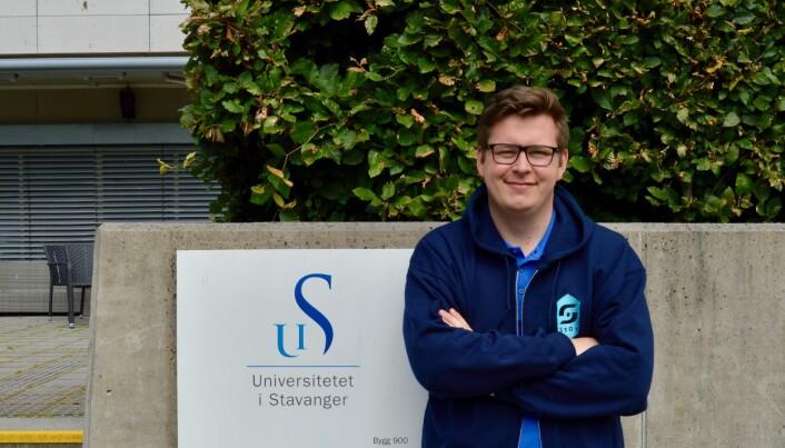Jørgen Sjøberg, Studentorganisasjonen i Stavanger.