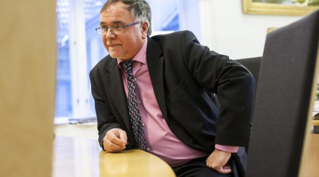 Kjell Bernstrøm universitetsdirektør UiB.