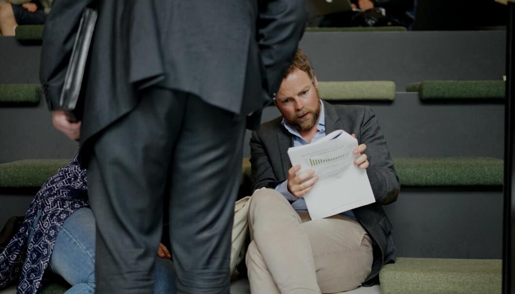 Kunnskapsminister Torbjørn Røe Isaksen presenterte tallene for hovedopptaket innen høyere utdanning denne uka.