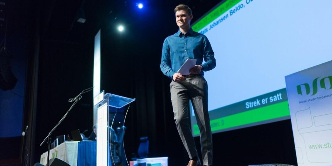 """Leder for Norsk studentorganisasjon (<span class=""""caps"""">NSO</span>) håper institusjonene følger opp Kvalitetsmeldingen og gjør et bedre arbeid rundt sensur ogsensorveiledninger."""