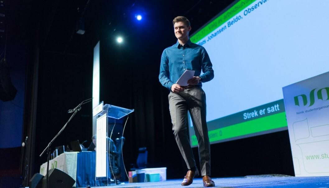 Leder for Norsk studentorganisasjon (NSO) håper institusjonene følger opp Kvalitetsmeldingen og gjør et bedre arbeid rundt sensur ogsensorveiledninger.