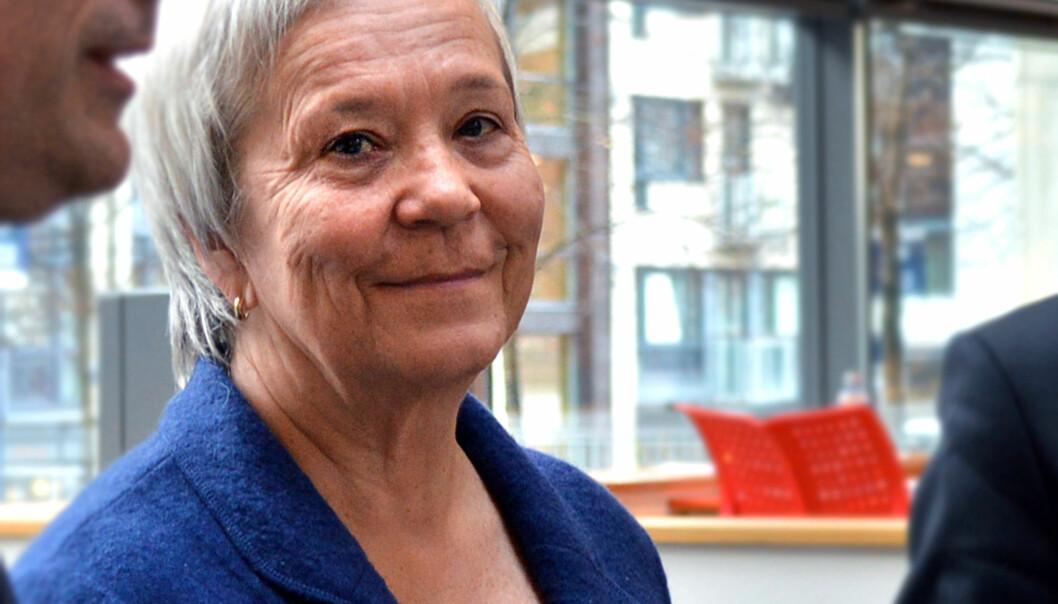 Rektor Kathrine Skretting ved Høgskolen i Innlandethar nå ansatt fem av seksdekaner. Foto: Maja Lindseth