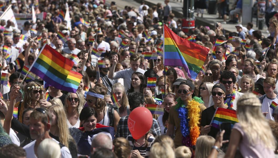 I år lar vi regnbueflagget vaie i kampen mot LHBT-frie soner og lignende diskriminering basert på bakgrunn, seksualitet og kjønnsidentitet som skader studentene sin akademiske frihet, skriver ANSA-leder, Morgan Alangeh.