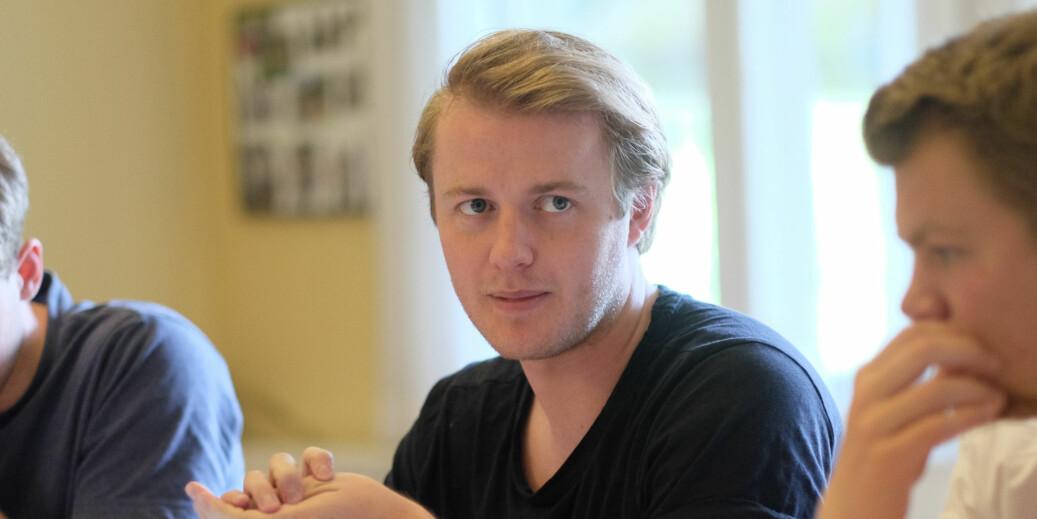 Leder for Studentparlamentet ved Universitetet i Bergen, Håkon Randgaard Mikalsen.