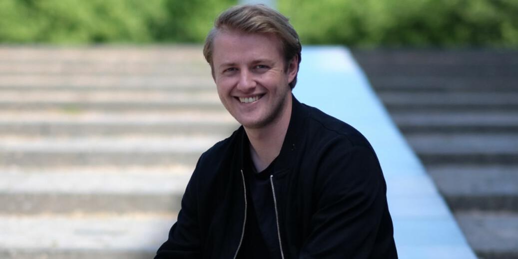 Håkon Randgaard Mikalsen, leder for Studentparlamentet ved Universitetet i Bergen, er innstilt til leder av NSO. Foto: Ketil Blom Haugstulen