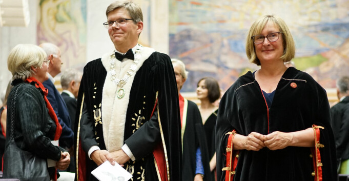 121 nye doktorer ved Universitetet i Oslo