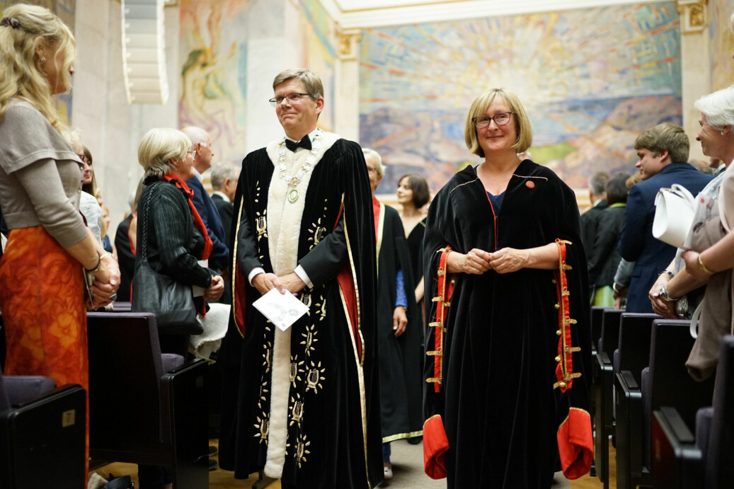I dag kreerer Universitet i Oslo med rektor Svein Stølen i spissen 121 nye doktorer. Foto: Ketil Blom Haugstulen