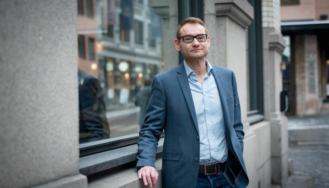 Prosjektleder for universitetssøknaden ved Høgskolen i Innlandet, Jørgen Klein, mener det går veien med universitetsplanene. Foto: Skjalg Bøhmer Vold