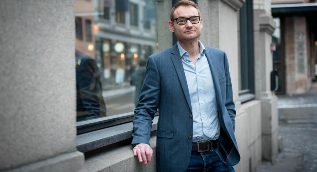 Jørgen Klein er prosjektleder for universitetssøknaden til Høgskolen i Innlandet. Foto: Skjalg Bøhmer Vold