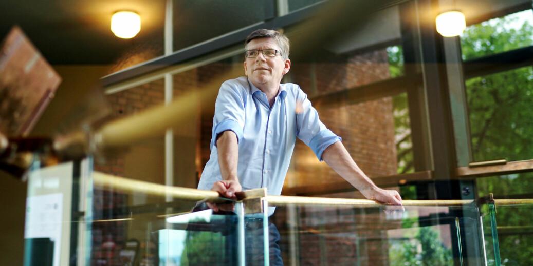 Svein Stølen er rektor for UiO, som har fire samfunnsvitenskapelige fagmiljøer som presterer i verdensklasse, ifølge Forskningsrådets evaluering. Foto: Ketil Blom Haugstulen