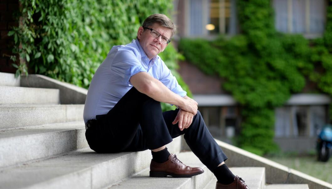 Rektor på Universitetet i Oslo, Svein Stølen, har fullt fokus på strakstiltak og forebygging når det kommer til trakassering generelt og seksuell trakasseringspesielt. Foto: Ketil Blom Haugstulen