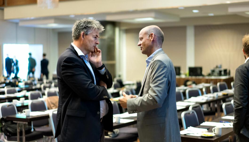 Statssekretær i Kunnskapsdepartementet, Bjørn Haugstad mener innsatsen mot digitalisering av sektoren måkoordineres. Foto: Ketil Blom Haugstulen