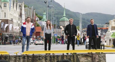 Studentpolitikk skal bli «noe litt kult» i Bergen