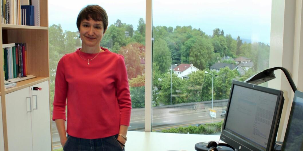 Elisabete Weiderpass er den 3. mest publiserende forskeren i landet de siste fem år. Foto: Jan Ivar Martinsen,Kreftregisteret