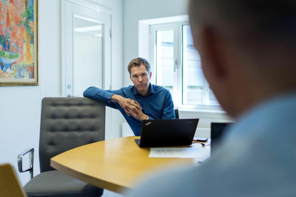 John-Arne Røttingen, administrerende direktør i Forskningsrådet. Foto: Ketil Blom Haugstulen