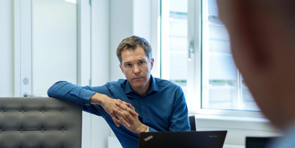 John-Arne Røttingen, administrerende direktør i Forskningsrådet, forteller at rådet øker finansieringen av humanioraforskning i årene framover. Foto: Ketil Blom Haugstulen