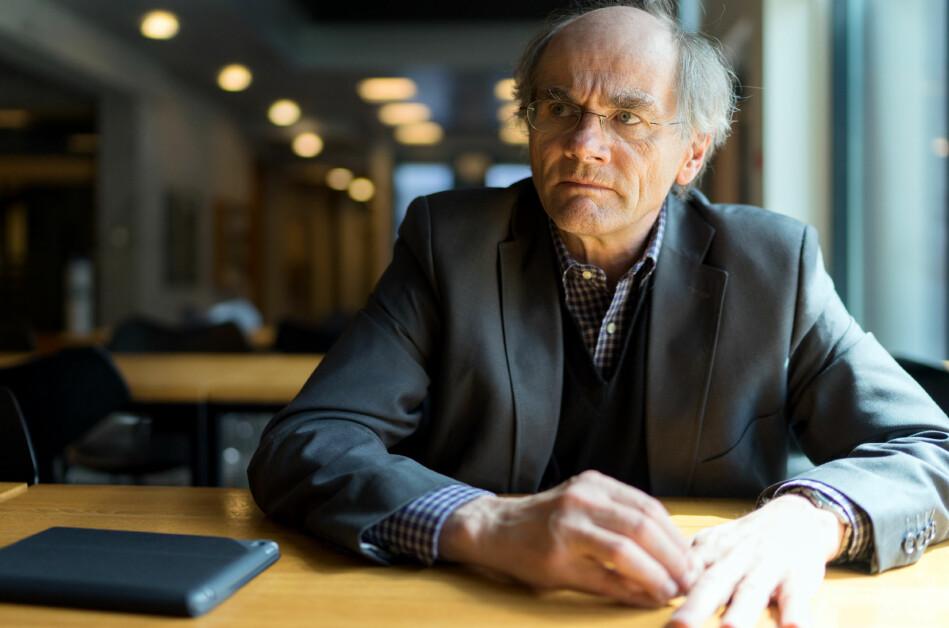 Eikrem-saken ved NTNU bør diskuteres innen en ramme der skillet mellom akademisk frihet og ytringsfrihet er erkjent, mener filosofiprofessor Olav Gjelsvik ved UiO. Foto: Ketil Blom Huagstulen