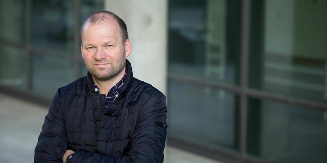 Professor ved Institutt for biologi, Øyvind Fiksen, er framifråundervisar. Foto: Eivind Senneset