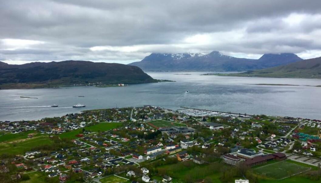 Nesna på Helgelandskysten. Foto: Privat
