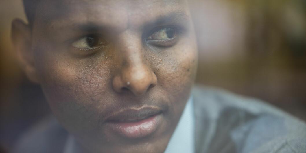 Yussuf Mohamed Santur håper antiradikaliseringsarbeid på sikt vil få færre unge kenyanere til å bli med i grupper somal-Shabaab. Foto: Ketil Blom Haugstulen