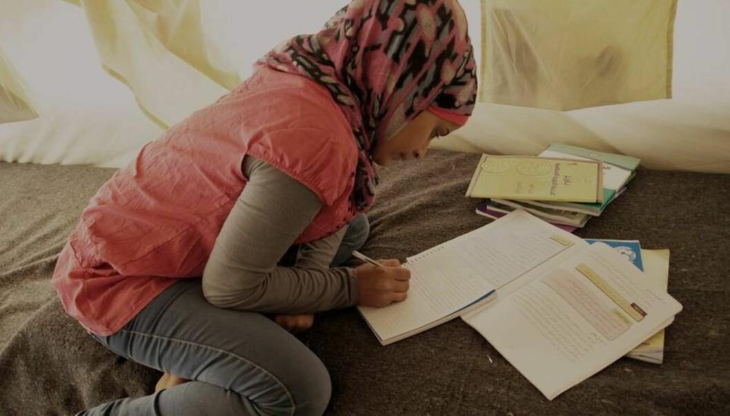 NOKUT får en stadig økende mengde søknader om godkjenning av utdanning fra syriske flyktninger. Foto: Flyktningehjelpen/ChristianJepsen