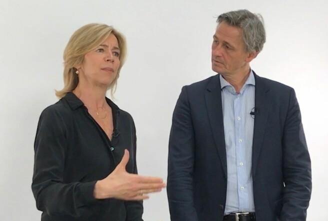 Nina Waaler og Asbjørn Seim.