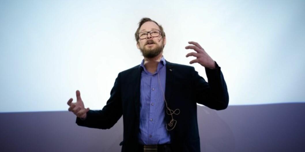Rektorkandidat Harald Holone tapte valget mot sittende rektor ved Høgskolen i Østfold, men får fire nye år som dekan. Foto: HenrietteDæhlie