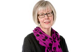Statssekretær i Helsedepartementet, Anne Grethe Erlandsen (H), minner om at det ikke er regjeringens ansvar å øke startlønnen til sykepleierne. Foto: Regjeringen