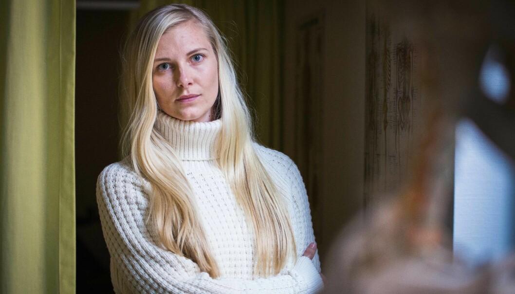 Line Susann Nilsen aner ikke når eller hvor hun eventuelt vil få turnus etter å ha fullført fysioterapeututdanningen sin. Foto: Siri Ø.Eriksen