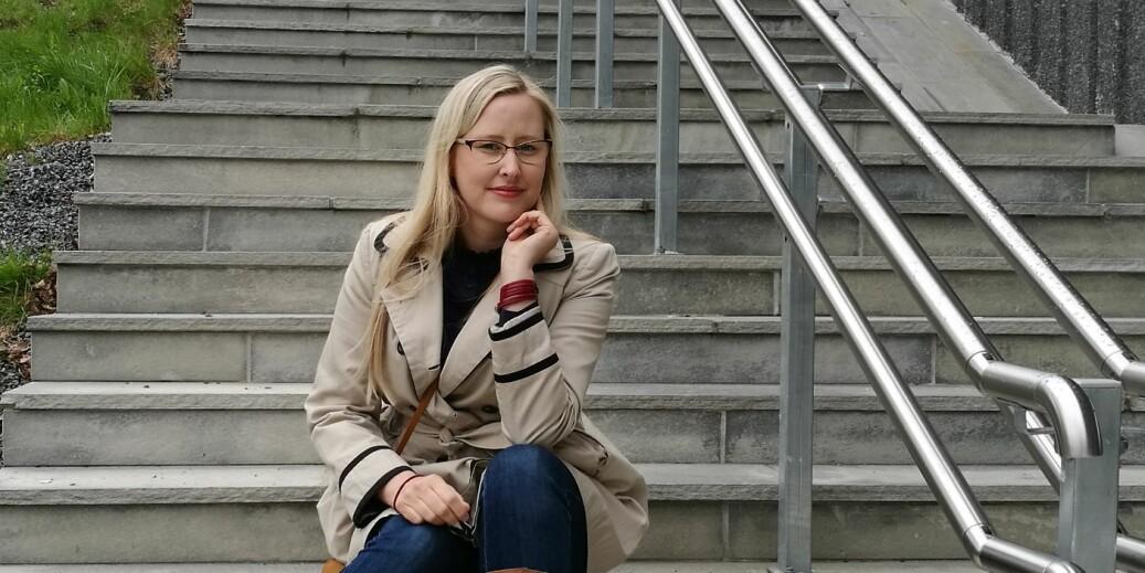 Elin Gravningen blir ny leder for Studentdemokratiet i Sørøst-Norge. Foto: SDSN