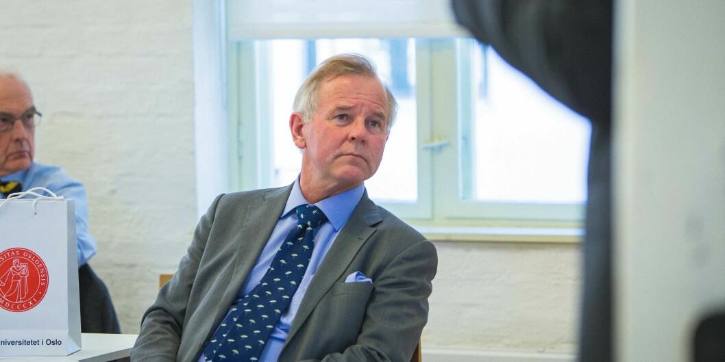 Vi vet at «grønn» tilgang alene ikke er veien å gå, fordi vi har forsøkt, skriver UiO-rektor Ole Petter Ottersen om Open Access. Kun 12 prosent av alle publiserte artikler ved UiO er tilgjengelig i åpent vitenarkiv. Foto: Siri Ø. Eriksen.