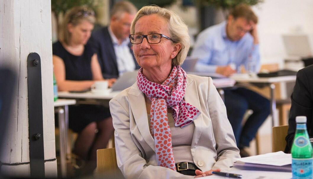 Gunn-Elin Aa. Bjørneboe har gått av som universitetsdirektør på Universitetet i Oslo. Nå er hun oppnevnt som styrmedlem ved Kunsthøgskolen i Oslo. Foto: Siri Øverland Eriksen