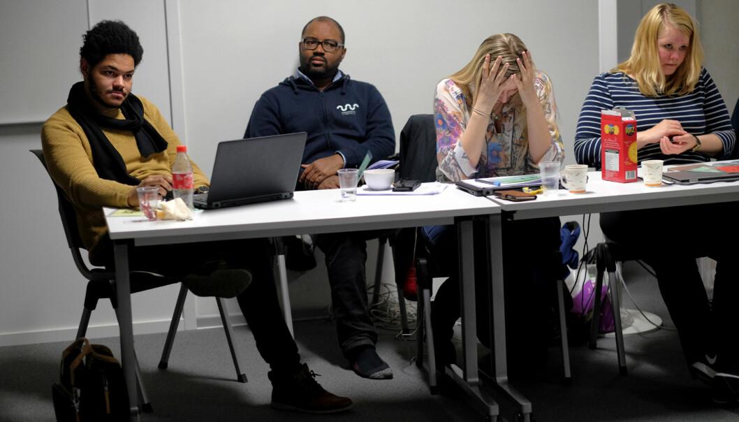 Parlamentet ved Høgskolen i Sørøst-Norge valgte fredag å ikke velge nystudentleder. Foto: Ketil Blom Haugstulen