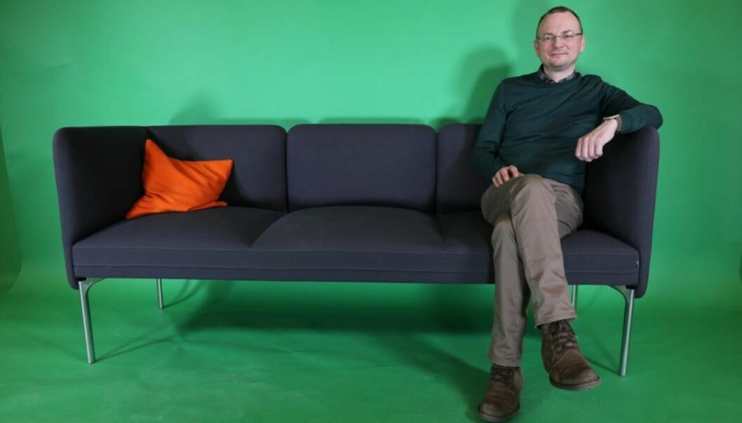 Høgskolelektor Georg Inge Iversen Panzer stiller til valg som rektor ved Høgskolen i Molde. dermed er det fire kandidater i rektorvalget. Foto: Arild J.Waagbø