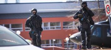 Skremmende realistisk terror-øvelse på Nord
