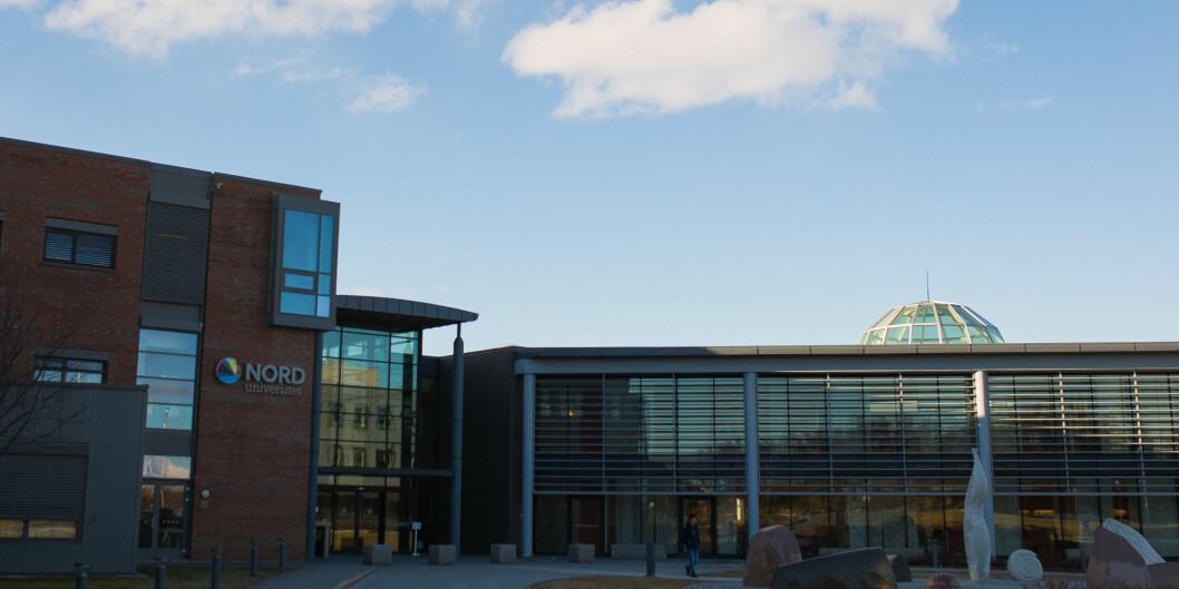 Stille før stormen: Nord universitetet er åstedet for en uventet «hendelse» under Øvelse Nord 2017. Onsdag 26. april braket det løs. Foto: Siri Ø.Eriksen