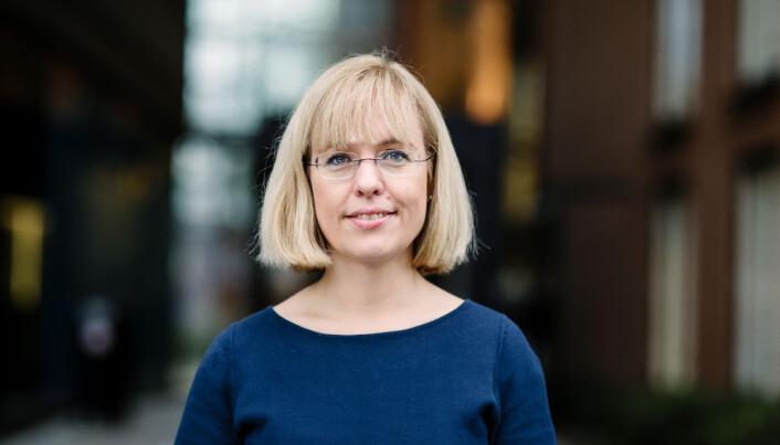 Språkdirektør Åse Wetås venter en bedring etter drahjelp fra departementet. Foto: Språkrådet