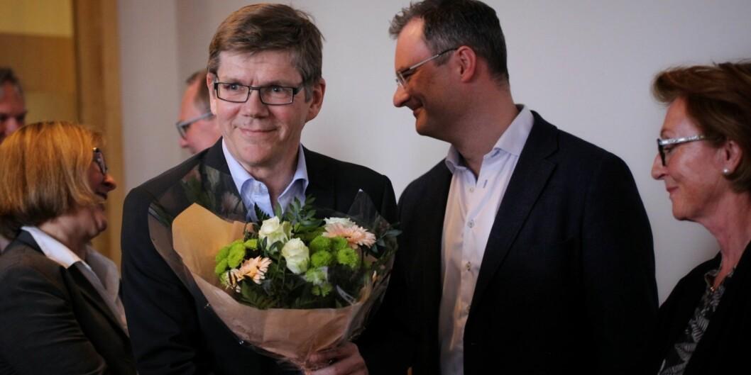 Svein Stølen er nyvalgt rektor på Universitetet i Oslo, og tiltrer i stillingen 1. august. Foto: Siri Ø.Eriksen