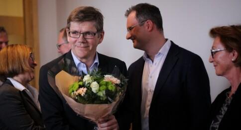 Svein Stølen vant rektorvalget på UiO