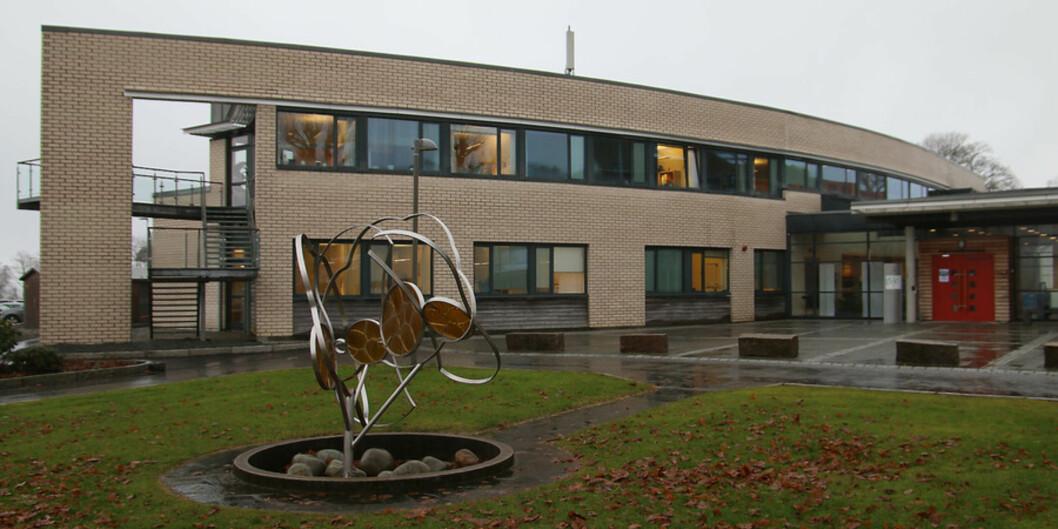 Høgskulen på vestlandet campus Stord, bilde fra2016. Foto: Marthe Njåstad