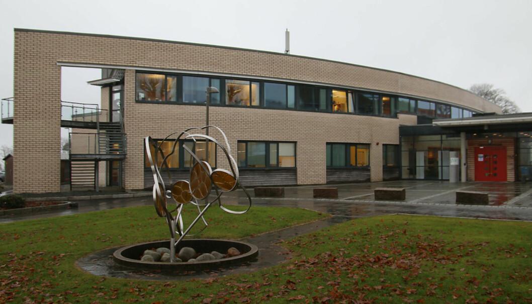 Stord campus på Høgskulen på Vestlandet. Foto: Marthe Njåstad