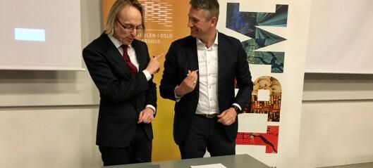 HiOA kan bli Norges første «Watson-universitet»