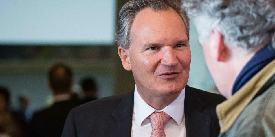 Arkitekten bak Plan S, Robert-Jan Smits, besøkte Norge i 2017, da han var EUs generaldirektør for forskning. Foto: Siri Øverland Eriksen