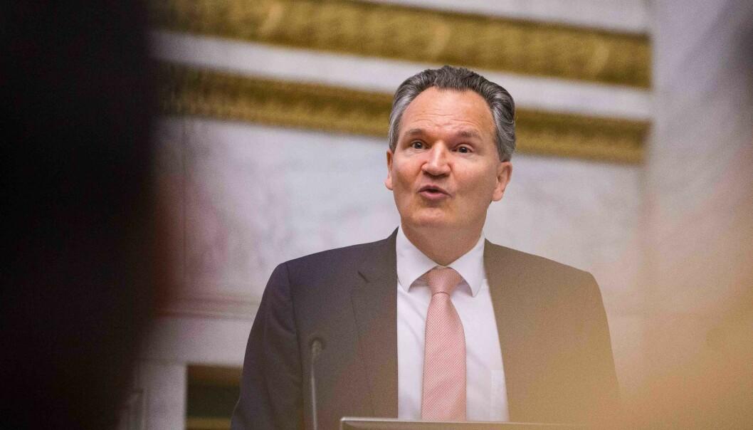 «Arkitekten» bak Plan S, Robert-Jan Smits, tidligere generaldirektør for forskning i EU-kommisjonen. Foto: Siri Øverland Eriksen