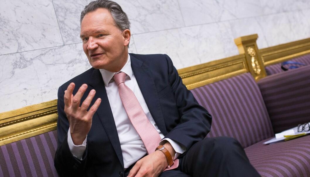Robert-Jan Smits, EUs generaldirektør for forskning, vil at neste EU-forskningsprogram skal være grønnere, og vil ha flere sprøprosjektidéer.