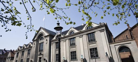 Mer selvstyre til danske universiteter