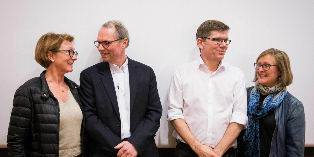Debattene i årets rektorvalg ved Universitetet i Oslo er over. Foto: Siri Ø.Eriksen